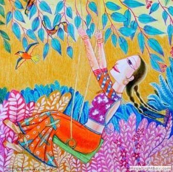 Kenfortes_Girl in a swing
