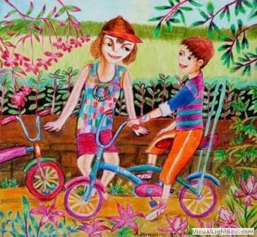 Kenfortes_Kids Cycling