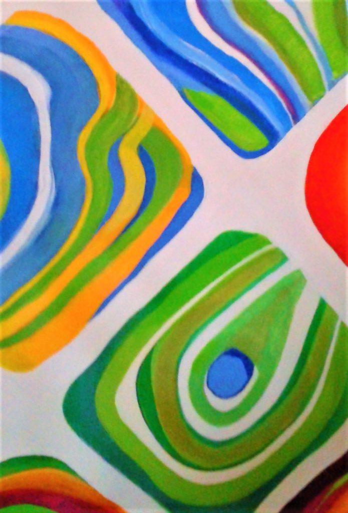 acrylic modern art kenfortes artist suresh