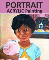 portrait painting acrylics Live