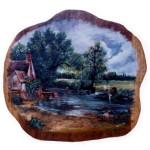 reproduction of john constable on wood oil paint kenfortes art bangalore