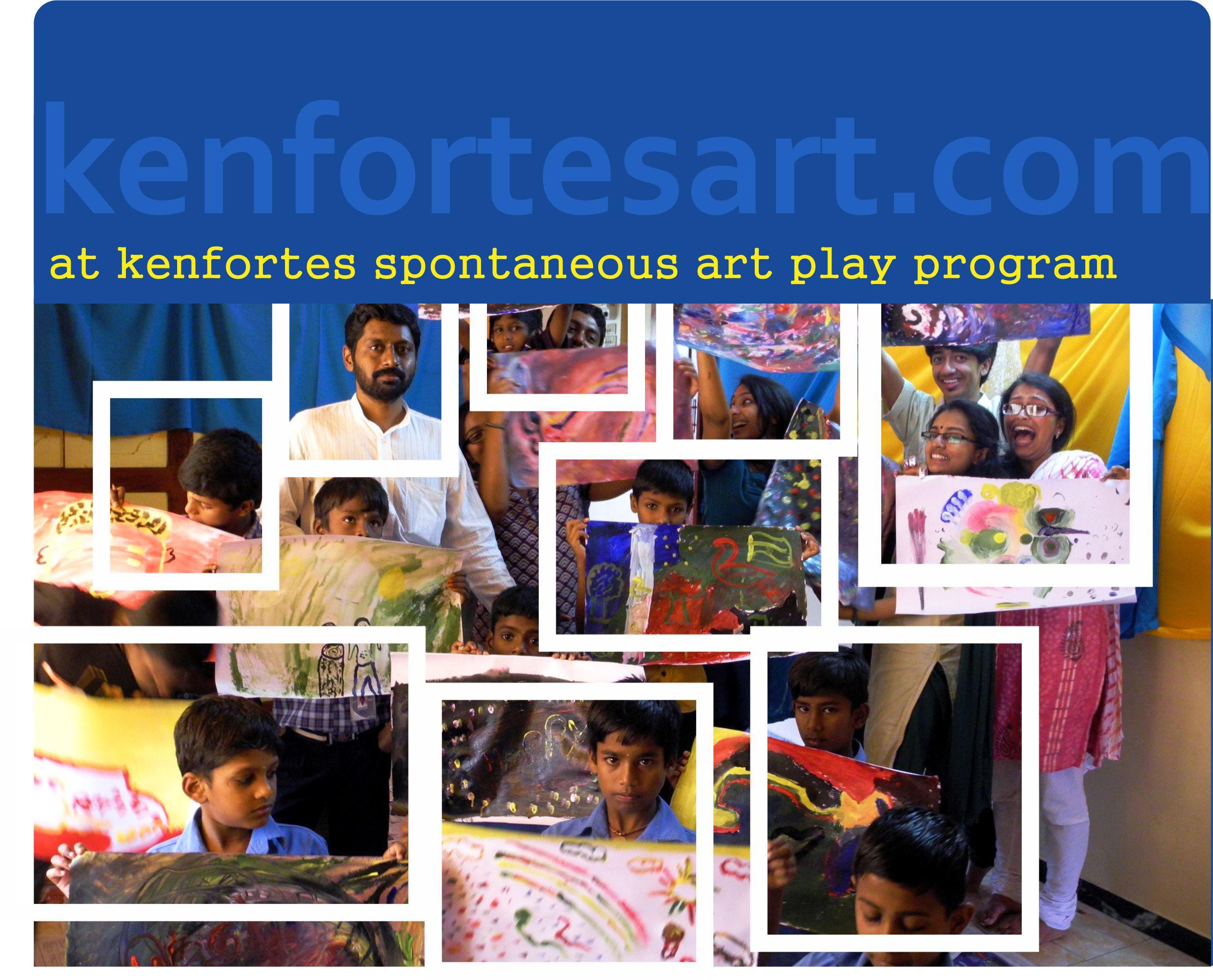 children art play program kenfortes art class