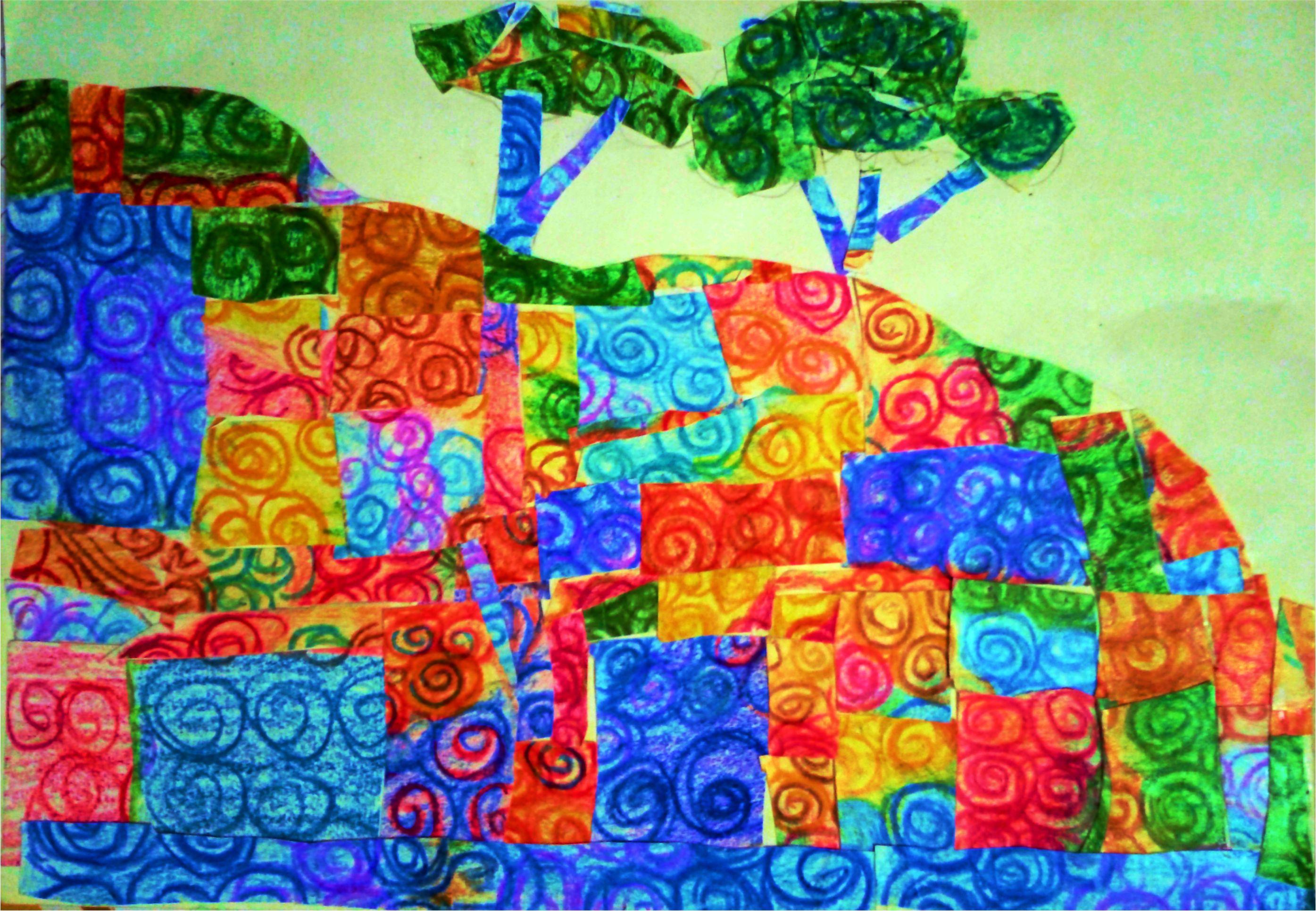 kenfortes art school - crayon art