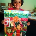 Selected children art works