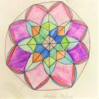 Mandala art by AHANA