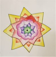 MANDALA ART by ANANYA