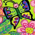 butterfly-crayons-digital-art-kenfortes-art-classes-children-kids-adults-painting-Arts-courses-