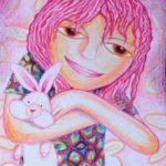 Kenfortes_Girl with rabbit