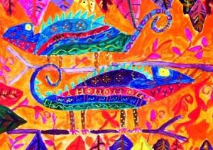 Kenfortes_Colorful Chameleons