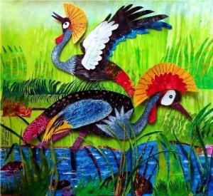 Kenfortes_Crowned Cranes 3D