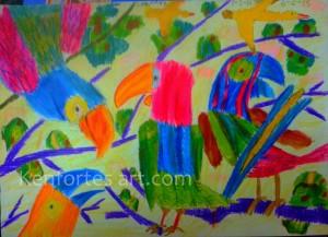 crayan art by kenfortes children