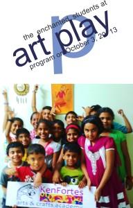 children at kenfortes art play
