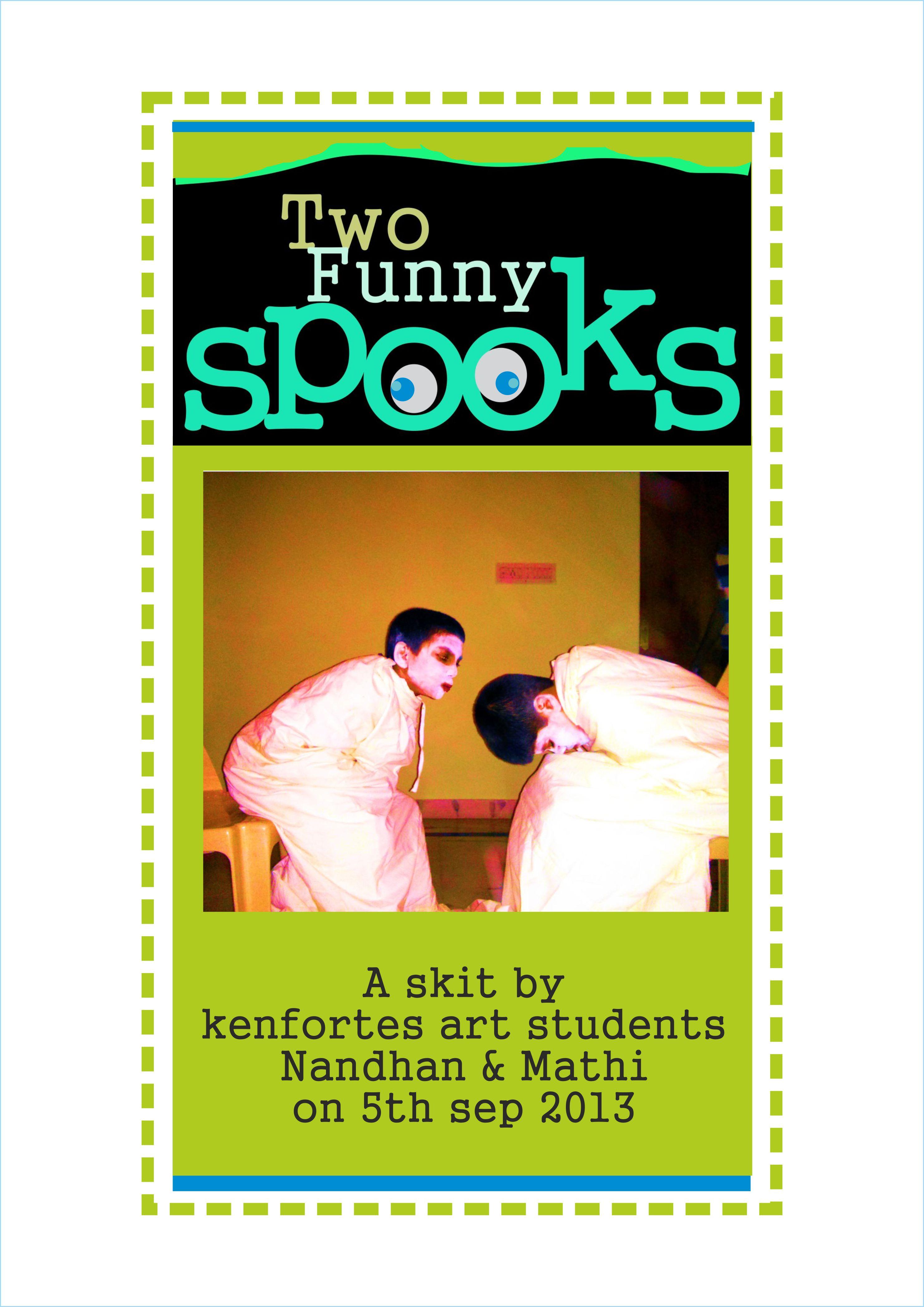 2 spooks drama BTM art class - drama by kenfortes