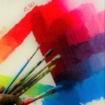 kenfortes online ART CLASS - color triangle - primary color mixing
